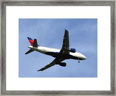 Delta Flight 2 Framed Print