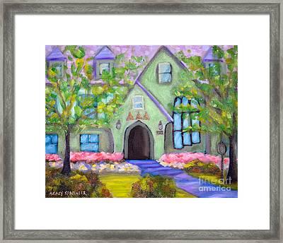 Delta House Framed Print