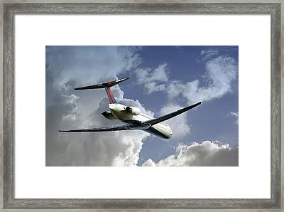 Delta Jet Framed Print by Brian Wallace