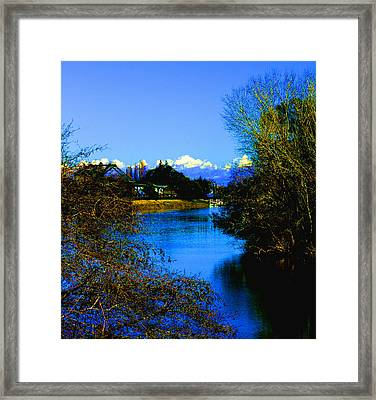 Delta Loop Secrets Framed Print by Joseph Coulombe