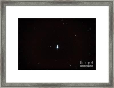 Delta Orionis Framed Print by John Chumack