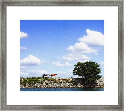 Delta Range Framed Print by Ari Jacobs