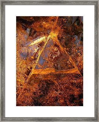 Delta Framed Print by Sami Tiainen