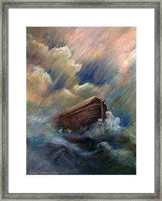Deluge Framed Print by Judy Downs