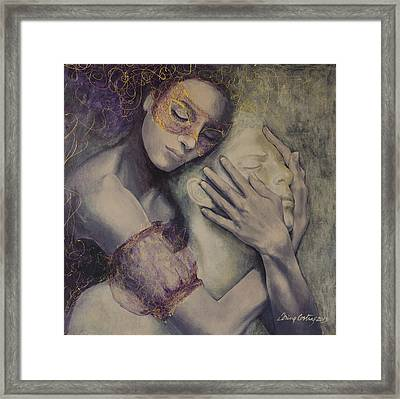 Delusion Framed Print by Dorina  Costras