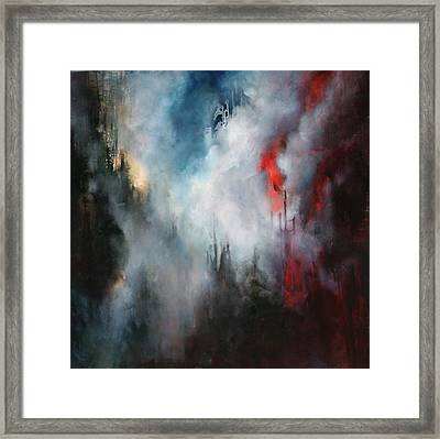 Delusions Of  Granduer Framed Print by Lissa Bockrath