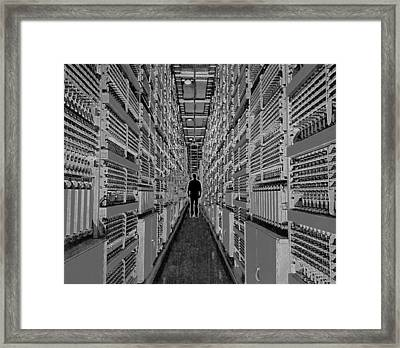 Delving Deep Framed Print by Alan McCormick