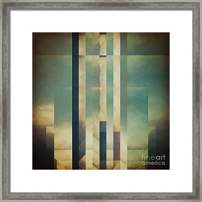 Demagogic Sky Framed Print by Lonnie Christopher