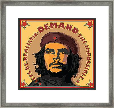 Demand The Impossible Framed Print by Larry Butterworth
