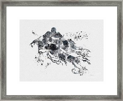 Dementor Framed Print by Rebecca Jenkins