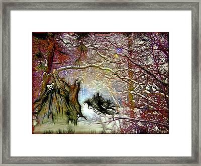 Dementors Framed Print by Daniel Janda