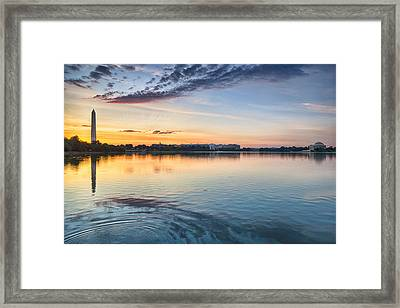 Democracy Awakens Framed Print