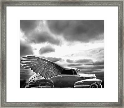 Demon Chevrolet Framed Print by Larry Butterworth