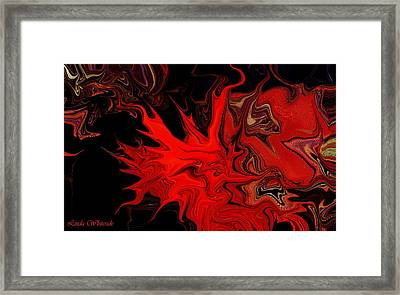Demon Ocular M Scintillation Framed Print