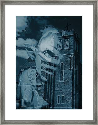 Demoncast Framed Print