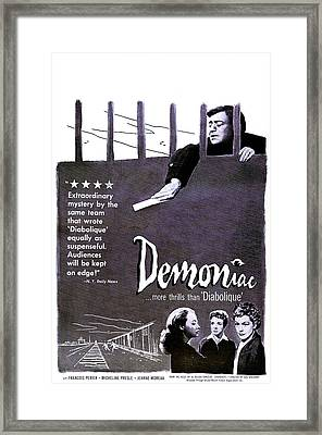 Demoniac, Aka Le Louves, Us Poster Framed Print by Everett