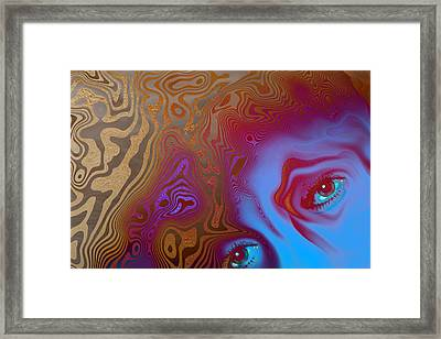 Demons Framed Print by Carol and Mike Werner