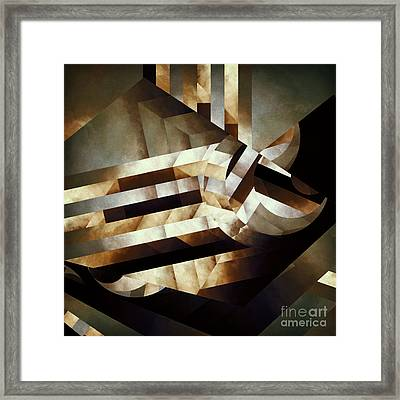 Demoralized Space Framed Print by Lonnie Christopher