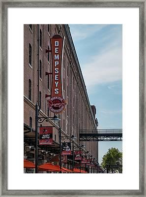 Dempseys Brew Pub Framed Print by Susan Candelario