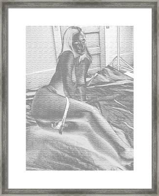 Demure Framed Print by David Trotter