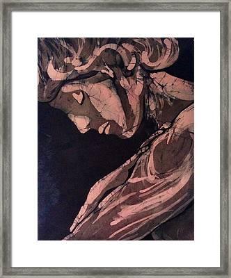 Demure  Framed Print