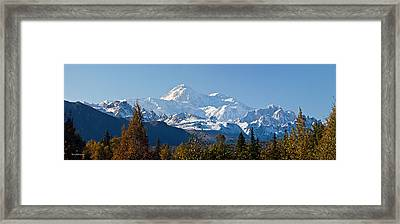 Denali Framed Print