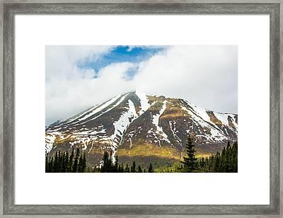 Denali Mountain Framed Print