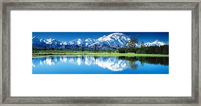 Denali National Park Ak Usa Framed Print