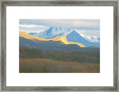 Denali Textures And  Colors Framed Print