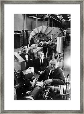 Denis Robinson Framed Print by Aip Emilio Segre Visual Archives, Physics Today Collection