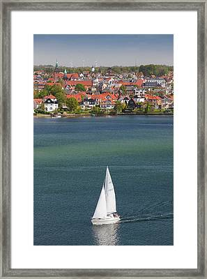 Denmark, Funen, Svendborg, Elevated Framed Print