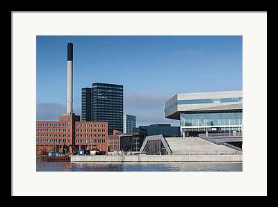 Aarhus Framed Prints
