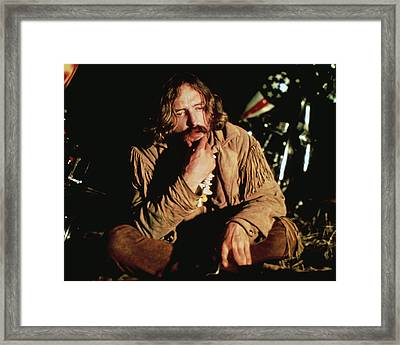 Dennis Hopper In Easy Rider  Framed Print