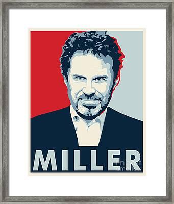 Dennis Miller Framed Print by John Lehman