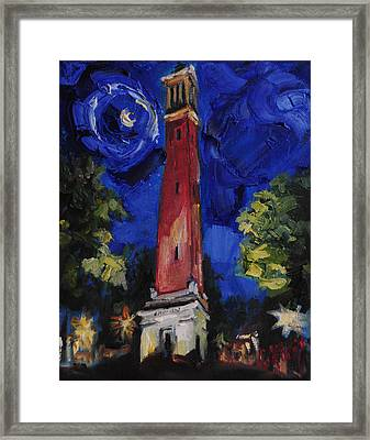 Denny Chimes Framed Print by Carole Foret