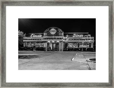Denny's Classic Diner Framed Print