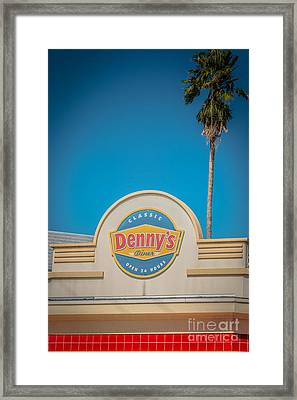Denny's Key West - Hdr Style Framed Print by Ian Monk