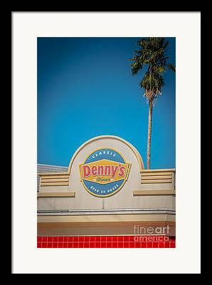 Dennys Framed Prints