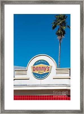 Denny's Key West  Framed Print by Ian Monk