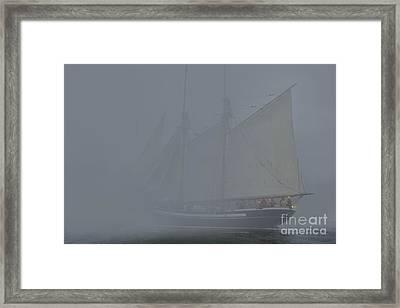 Dense Fog  Framed Print