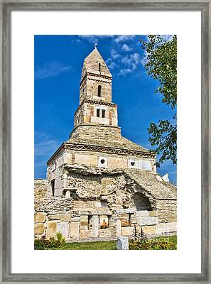 Densus Church Framed Print by Gabriela Insuratelu