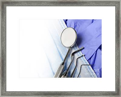 Dental Care Framed Print by Jelena Jovanovic