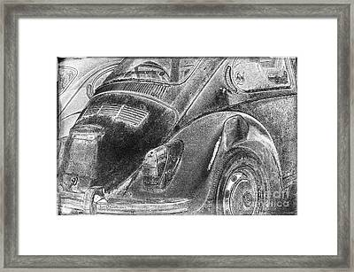 Framed Print featuring the photograph Dented Ego by Jean OKeeffe Macro Abundance Art