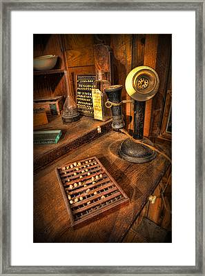Dentist - Victorian Dental Crown Display Box And Candle Phone Framed Print by Lee Dos Santos