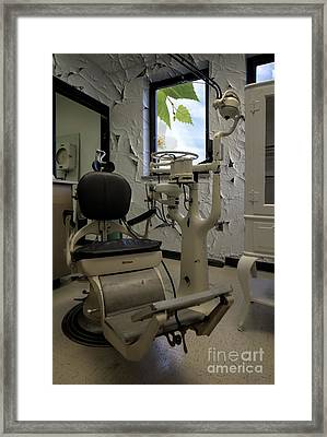 Dentist - Dental Office Framed Print by Liane Wright