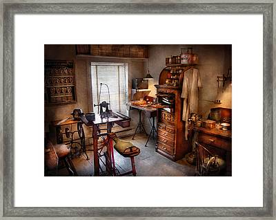 Dentist - Dental Workout Room  Framed Print by Mike Savad