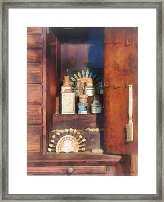 Dentist - Supplies For Making Dentures Framed Print by Susan Savad