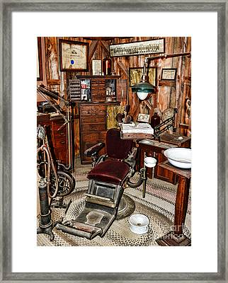Dentist - The Dentist Chair Framed Print