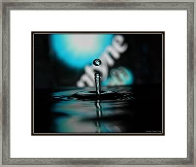 Dentyne Drop Framed Print
