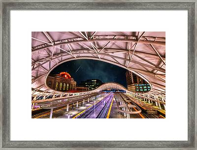 Denver Air Traveler Framed Print